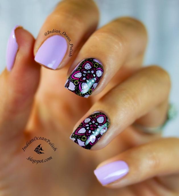 MoYou Explorer 03 decals floral nail artchina glaze sweet hook 2