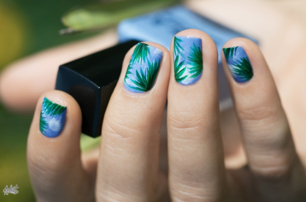 palm-leave-nail-art-idea-spring-summer8